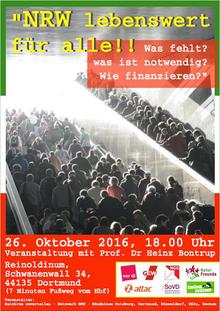 NRW - lebenswert für alle!